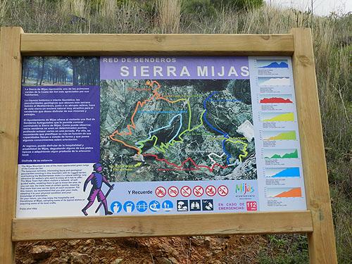 Wanderwege Mijas