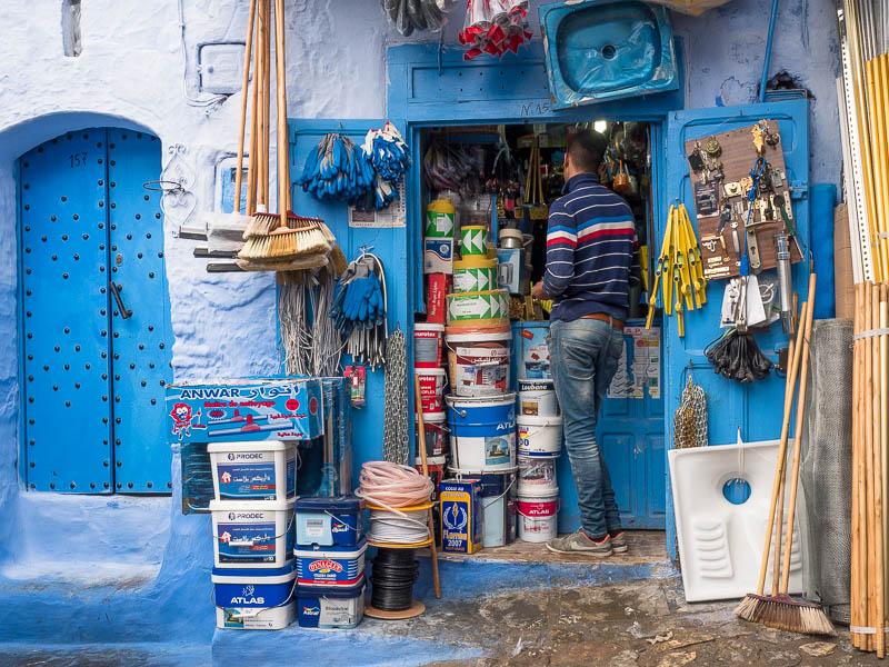 Marokkanischer Mini-Baumarkt
