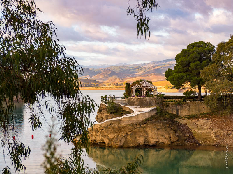 Stausee Andalusien