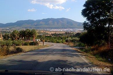 Autofahren in Andalusien