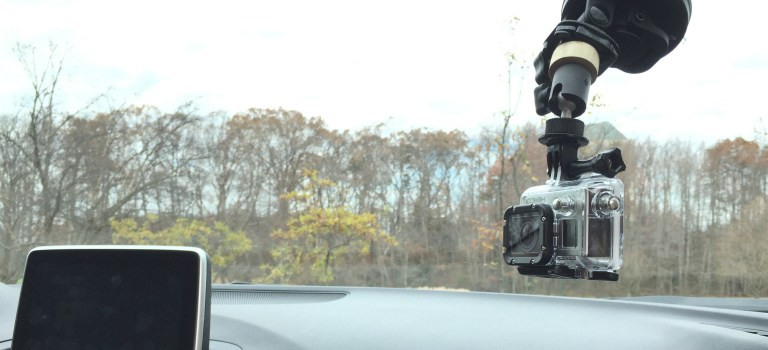 Adding a ball head to a GoPro suction cup mount