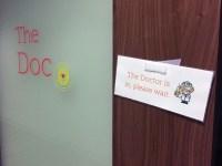 The Doc original 'privacy' sign