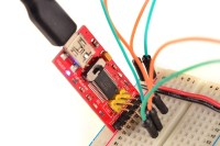 Programming setup with FTDI adapter
