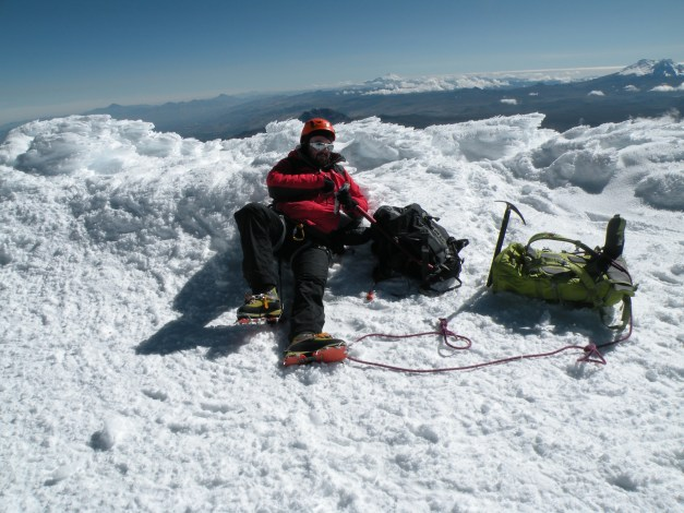 rest @ Cotopaxi summit