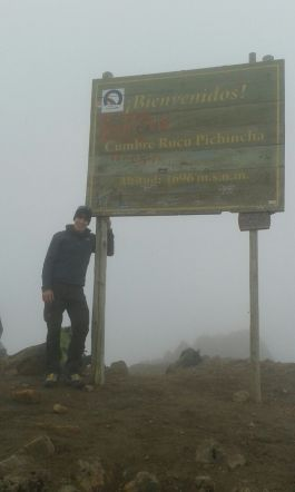 3rd tour summit - Rucu Pichincha (4.696 m)