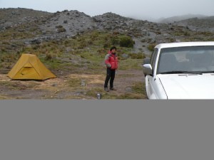 Antisana base camp - La Virgen - 4.500 m