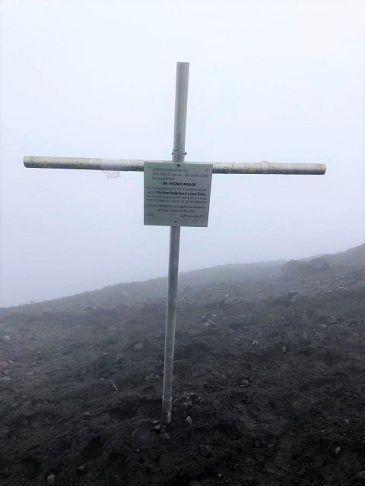memorial cross Tungurahua