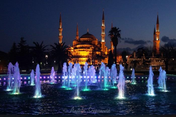 Fontana na Sultanahmet trgu