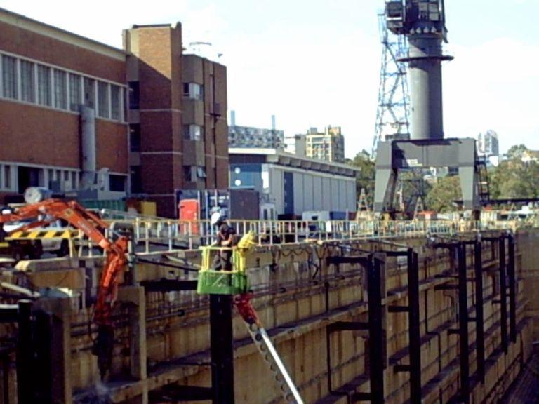 Dry Dock Garden Island Project