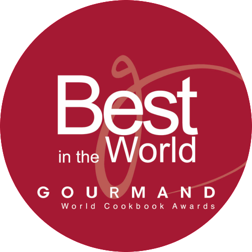 Finalist at Gourmands Worlds Best food Photography cook book 2016