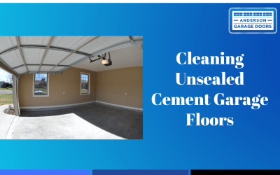 Cleaning Unsealed Cement Garage Floors