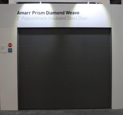 Amarr Prism Diamond Weave Garage Door