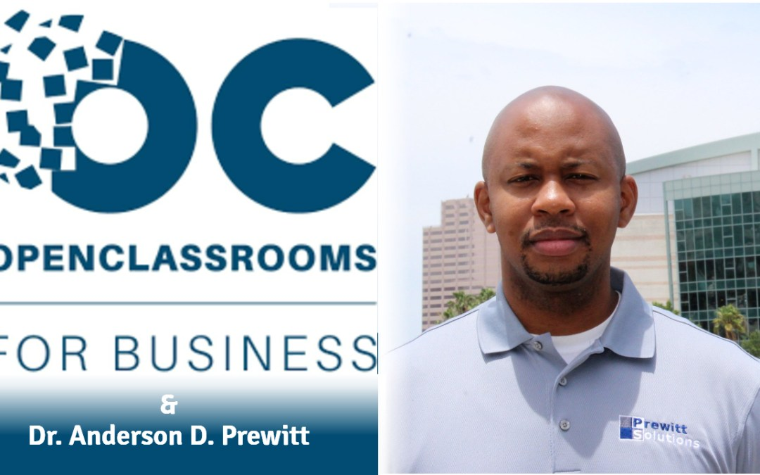 Dr. Anderson D. Prewitt to work with Europe's leading online learning platform.