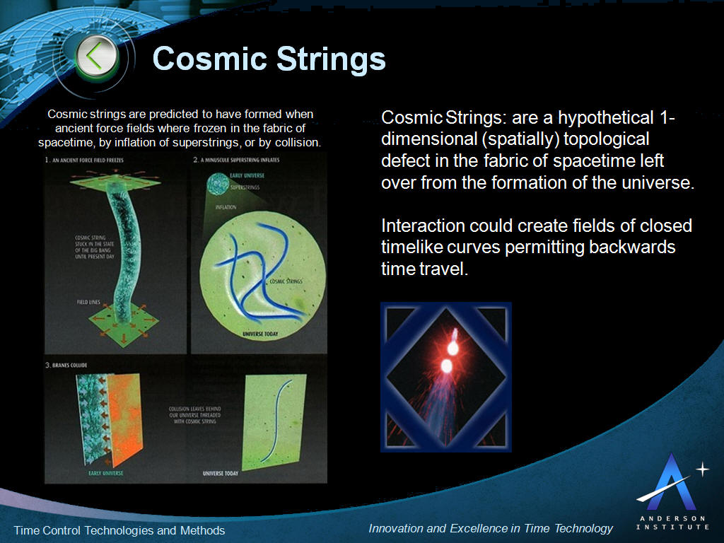 Image result for cosmic strings