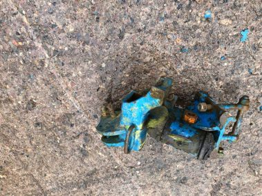 Lemken DLx land wheel bracket