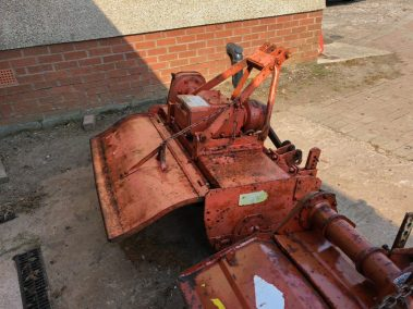 Howard Rotavator for compact tractor