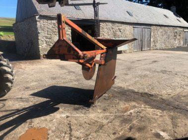 Daisy D mole plough Drainer