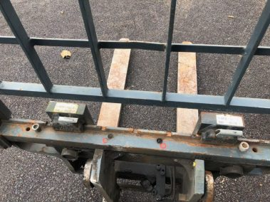 pallet forks side shift