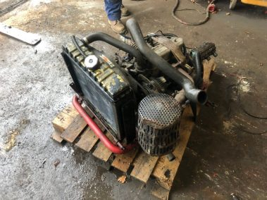 Perkins engine toro mower