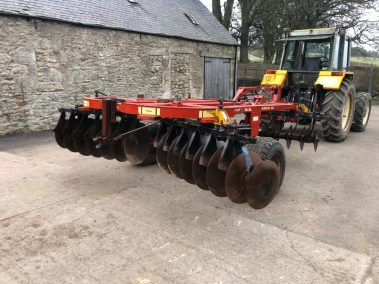 Kongskildi Disc harrow