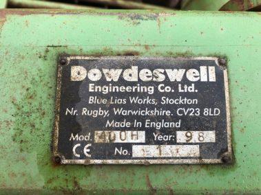 4m Dowdeswell power harrow