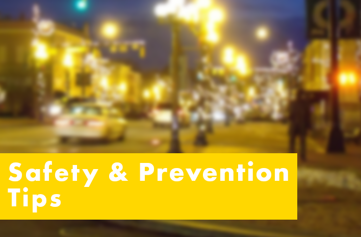 Safety and Prevention Tips
