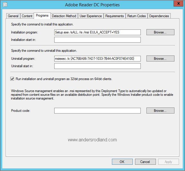 deploy acrobat reader dc with sccm how to do it rh andersrodland com Adobe Acrobat Pro Adobe Acrobat Pro