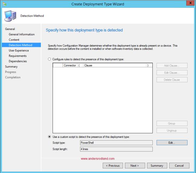 Deploy Windows Management Framework with SCCM - Step 6
