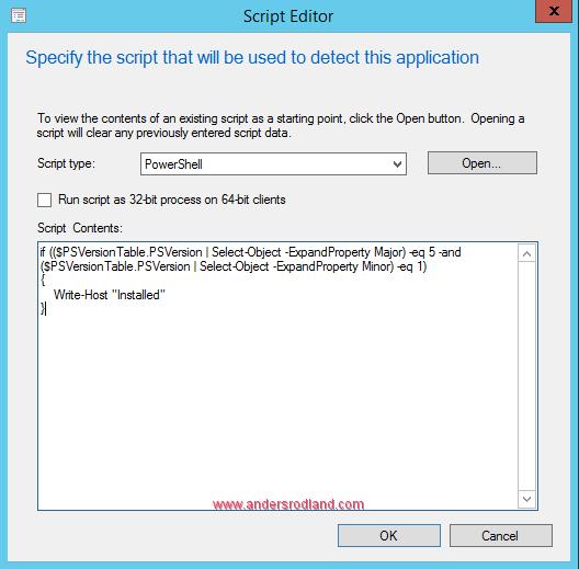 Deploy Windows Management Framework with SCCM - Step 7