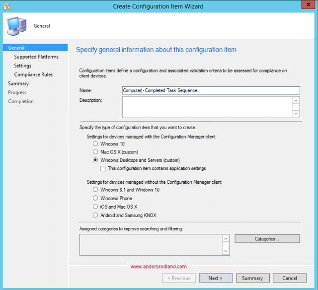Task Sequence Failed - Configuration Item