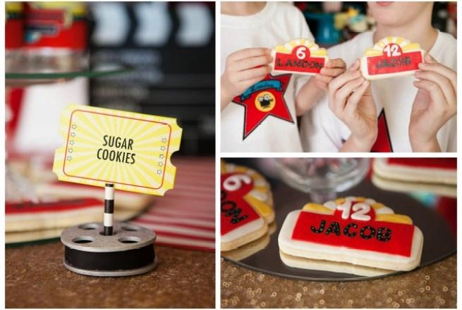 marquee sugar cookies