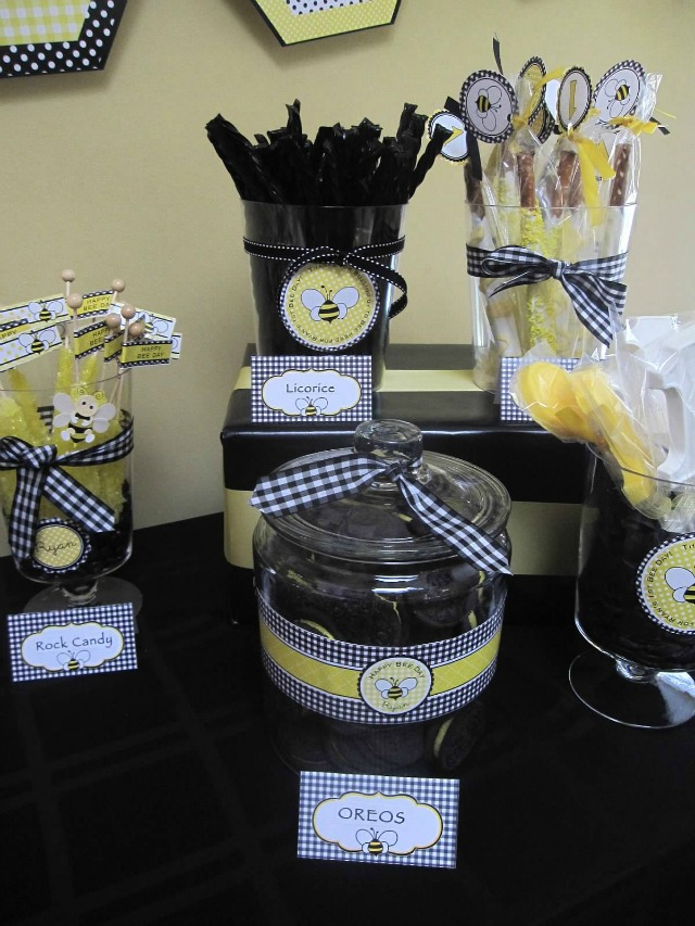 Shower Themed Favors Baby Bee