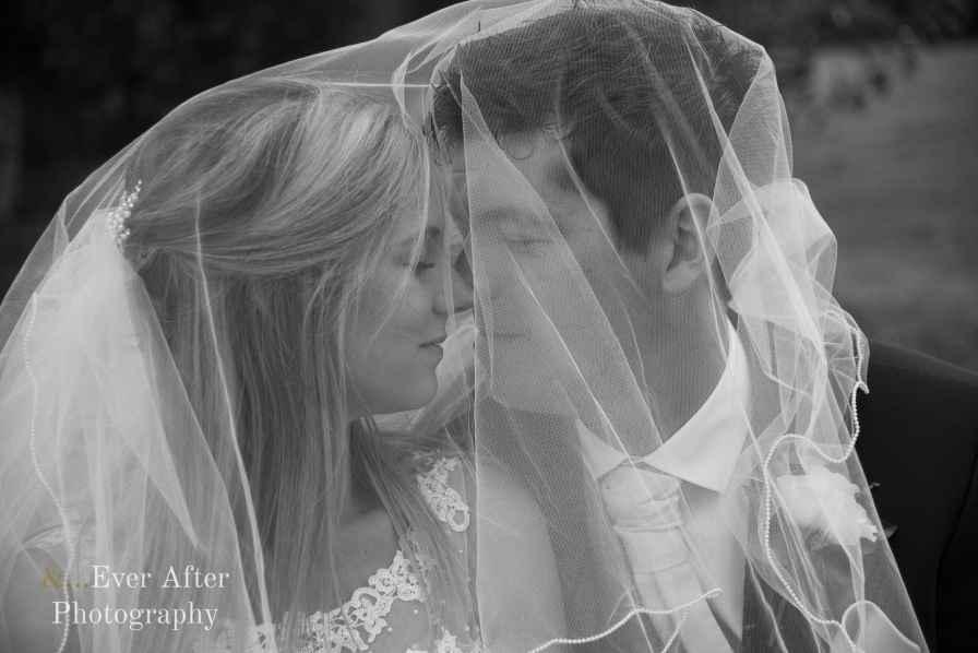 bride, groom, veil, love, married, photograph