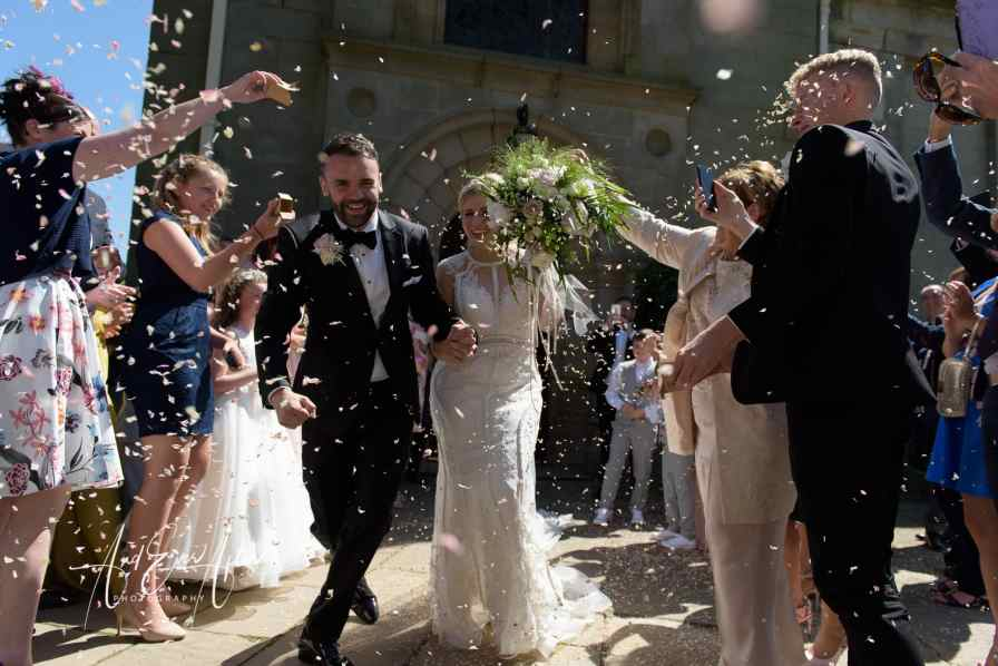 confetti, wynyard hall, and ever after photography