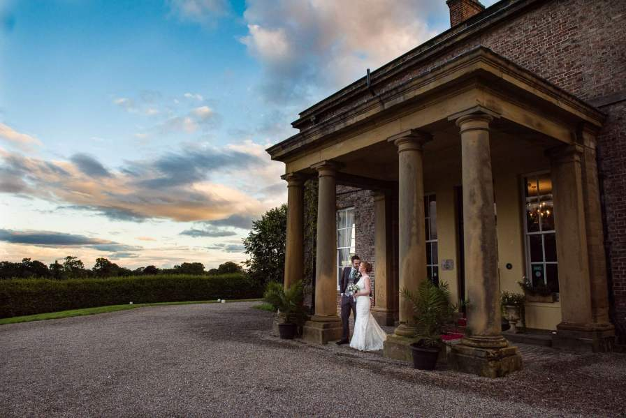 North Yorkshire wedding photography, solberge hall, bride and groom, wedding day