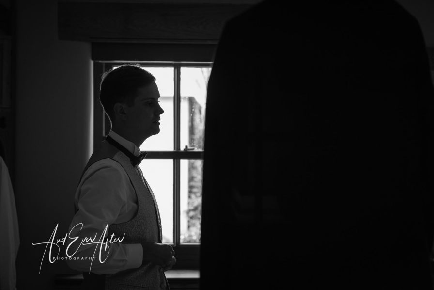 Groom, wedding day