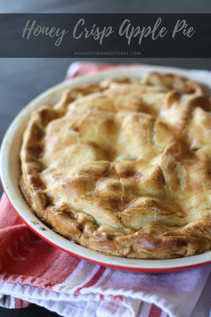 honey crisp apple pie