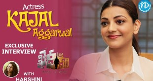 Kajal Aggarwal Exclusive Interview on Khaidi No 150