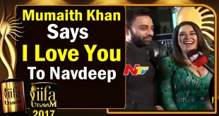 Mumaith Khan Says I Love You To Navdeep @ IIFA Utsavam