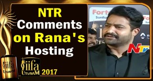 NTR Comments on Rana's Hosting @ IIFA Utsavam