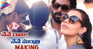Rana New Movie 'Nene Raju Nene Mantri' Making- Kajal Aggarwal,Teja