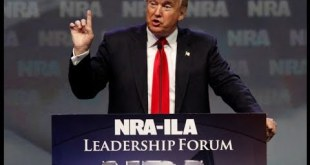 WATCH LIVE: President Trump addresses NRA national convention