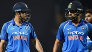 Rohit defends Dhoni's place in ODI, T20I teams