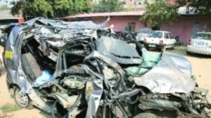 5 dead in Andhra car crash during New Year revelry