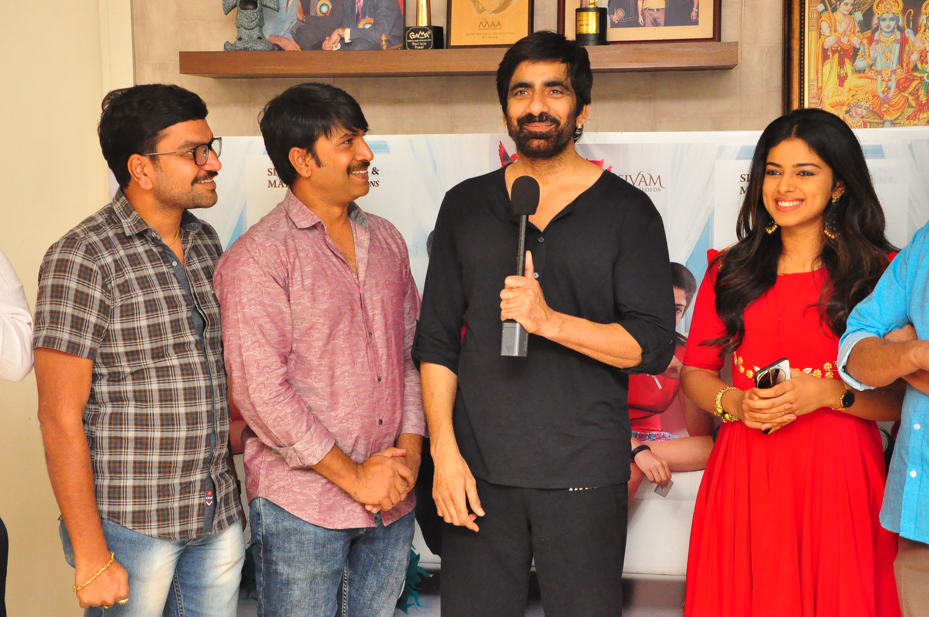 Jamba Lakidi Pamba Trailer Launch By Ravi Teja - Andhrawatch