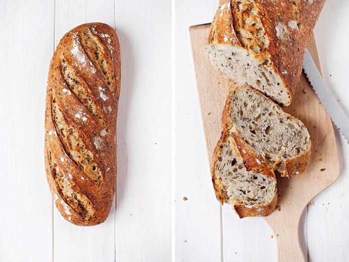 paine cu maia si seminte