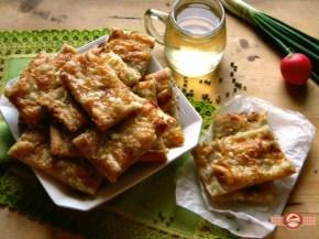 Prajiturici - Tarta cu ceapa si cascaval