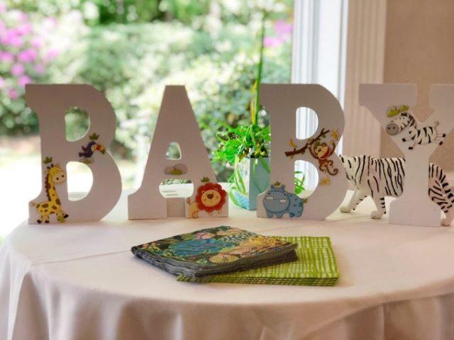 baby boy animal theme baby shower