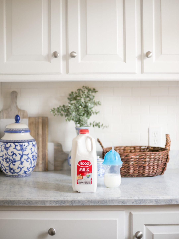 capucha leche entera para bebé