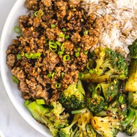Easy Ground Turkey Stir Fry